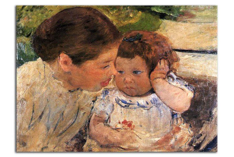 Susan Comforting the Baby, c.1881