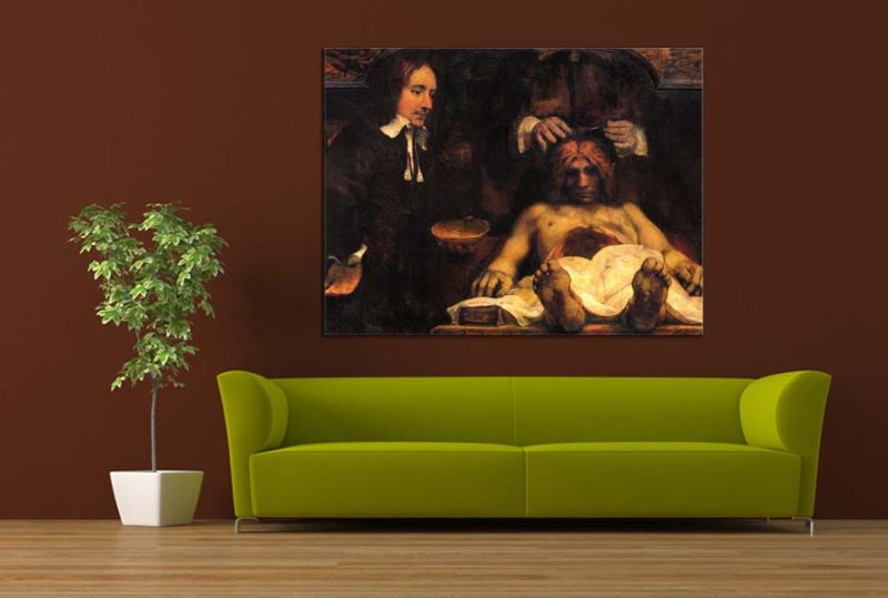 Obraz Rembrandt - Anatomy lesson of Dr Joan Deyman zs10365 ...