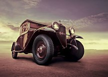 Luxury Vintage car - fototapeta FX0082