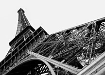 Paris Eiffel tower - fototapeta FM0243