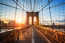 3d tapeta Brooklyn Bridge 29390 - samolepiaca