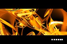 Golden abstract - fototapeta FS0286