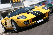 Super car at race circuit - fototapeta FS0342