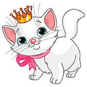 obrazy krásne mačička výstrek potreby