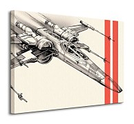 Star Wars Episode VII (X-Wing Pencil Art) - obraz WDC99331