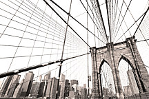 Tapeta New York City bridges 29221 - samolepiaca