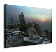 Buddha At Sunset - Obraz WDC7385