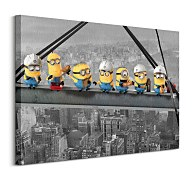 Despicable Me Lunch On A Scyscraper - Obraz WDC90967