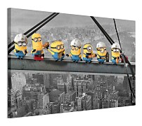 Despicable Me Lunch On A Scyscraper - Obraz WDC96295