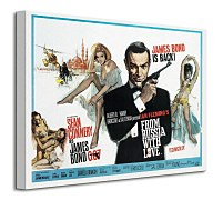 James Bond (From Russia With Love - Painting) - Obraz WDC92005