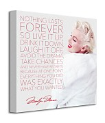 Marilyn Monroe (Nothing Lasts Forever) - Obraz WDC95404