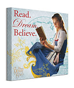 Beauty And The Beast Movie Read Dream Believe - obraz WDC95820
