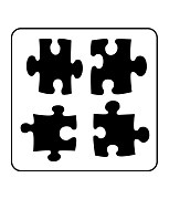 Šablóna Puzzle Craft Mini ST195