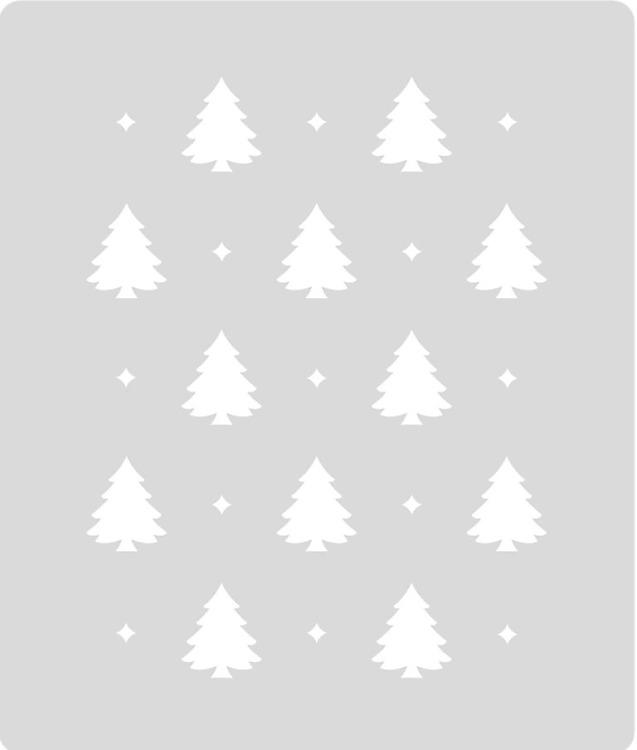 ca5e38b4a Šablóna Vianočné stromčeky ST216   Šablóny na nábytok Craft   DECOTREND