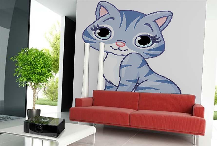 Čistá mačička obrázky