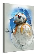 Star Wars: The Last Jedi (BB-8 Brushstroke) - obraz WDC100190