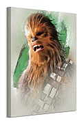 Star Wars: The Last Jedi (Chewbacca Brushstroke) - obraz na stenu WDC100191