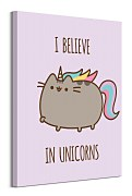 Obraz na stenu Pusheen (I Believe in Unicorns) WDC100268