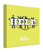 Hudobný obraz - The Beatles HELP! Yellow  WDC95850