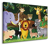 Jungle animals - Obraz CS0683