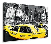 Rush Hour Times Square - Yellow Cabs - Obraz WDC96190