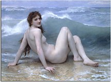 Obrazy Bouguereau - Wave zs10165