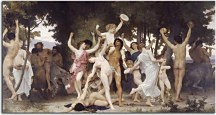 Obrazy Bouguereau - The Youth of Bacchus zs10166