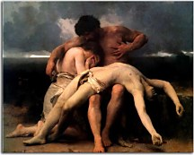 Reprodukcie Bouguereau - The first mourning zs10169