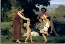 Bouguereau - The Pastoral Recreation zs10172