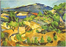 Reprodukcie Paul Cézanne - Mountains in Provence zs10178