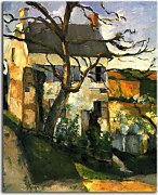 Obrazy Cézanne - The House and the Tree zs10180