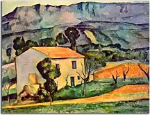 Obrazy Paul Cézanne - Houses in Provence zs10182