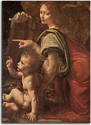 Obrazy Leonardo da Vinci - Virgin of the Rocks 2  zs10185