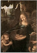 Obraz Leonardo da Vinci - Virgin of the Rocks 1 zs10186