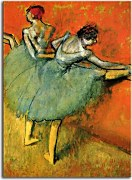Reprodukcie Degas - Dancers at the barre  zs10194
