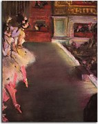 Obrazy Degas - Dancers at the Old Opera House  zs10195