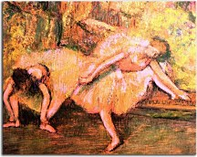Obraz Degas - Two dancers on a Bench  zs10200