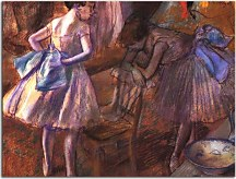 Obrazy Degas - Two dancers in their dressing room  zs10202