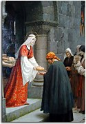 Edmund Blair Leighton obraz - The Charity of Saint Elizabeth of Hungary zs10215