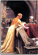 Edmund Blair Leighton obrazy - God speed  zs10218