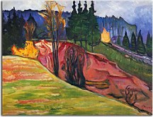 Obrazy od Edvard Munch - From Thuringewald zs10231