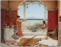 Obrazy J.W.Godward - The Sweet Siesta of a Summer Day zs10246