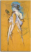 Reprodukcie Henri de Toulouse-Lautrec - The mirror in the Hand zs10265