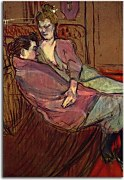 Reprodukcie Henri de Toulouse-Lautrec - The two friends zs10267