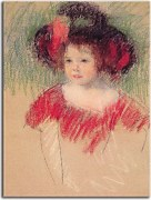 Reprodukcie Mary Cassatt - Margot zs10315