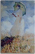 Monet  Obraz - Lady with Umbrella zs10326