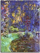 Reprodukcie Monet - The Garden in Giverny zs10330