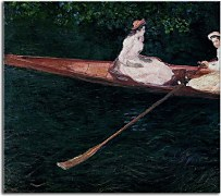 Boating On The River Epte Obraz Monet  zs10334