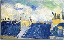 Pablo Picasso - The blue roofs zs10345