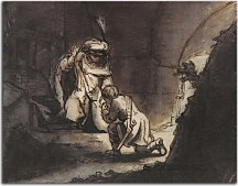 Obrazy Rembrandt - David taking leave of Jonathan zs10357